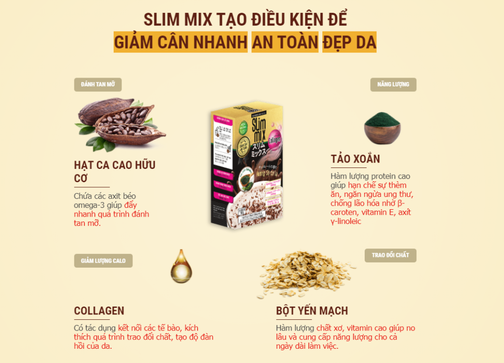 Slim Mix ý kiến
