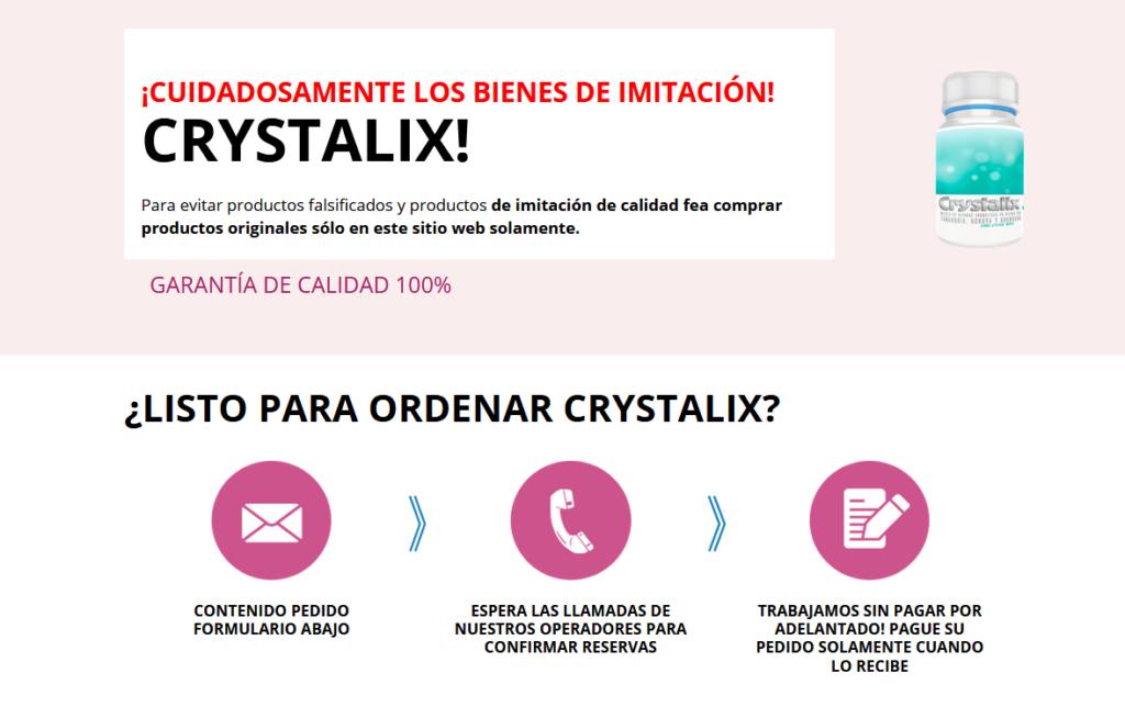 Crystalix cápsula