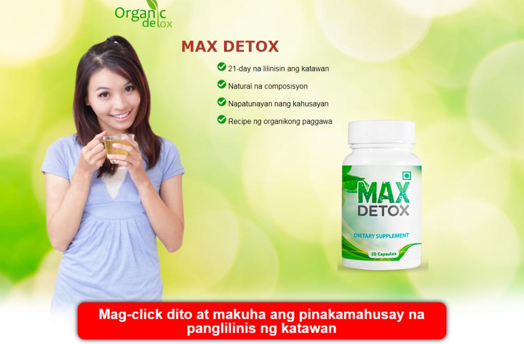 Max Detox tabletas