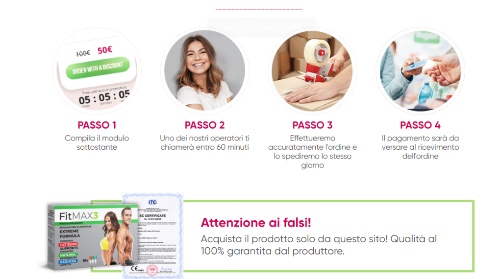 Fitmax3 Prezzo