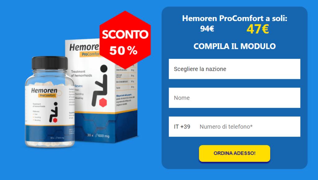 Hemoren ProComfort capsula