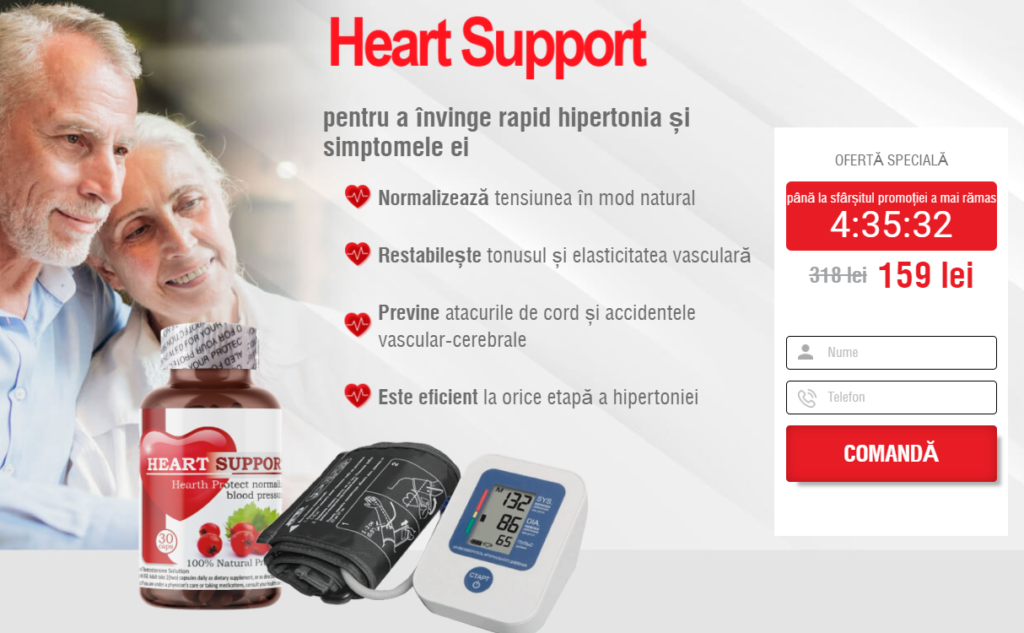 Heart Support Beneficii