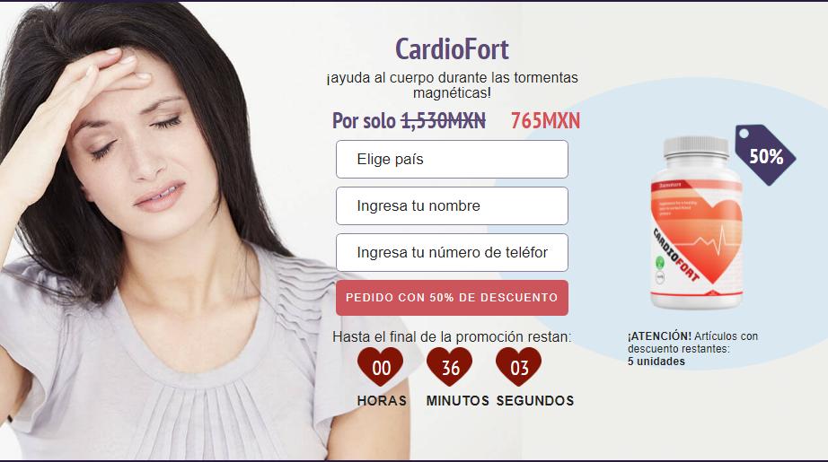 CardioFort tableta