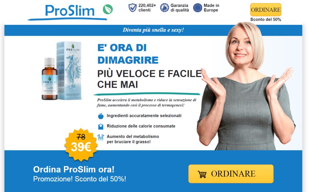 ProSlim Active Benefici