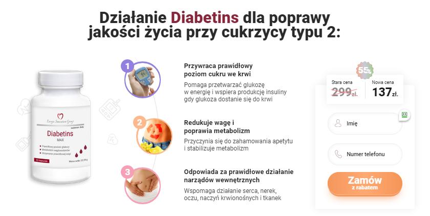 Diabetins Cena £