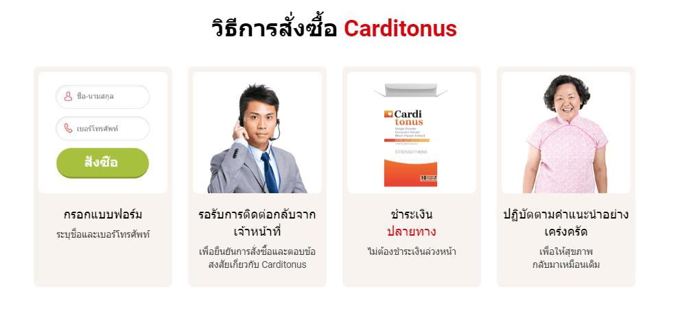 Carditonus ส่วนผสม