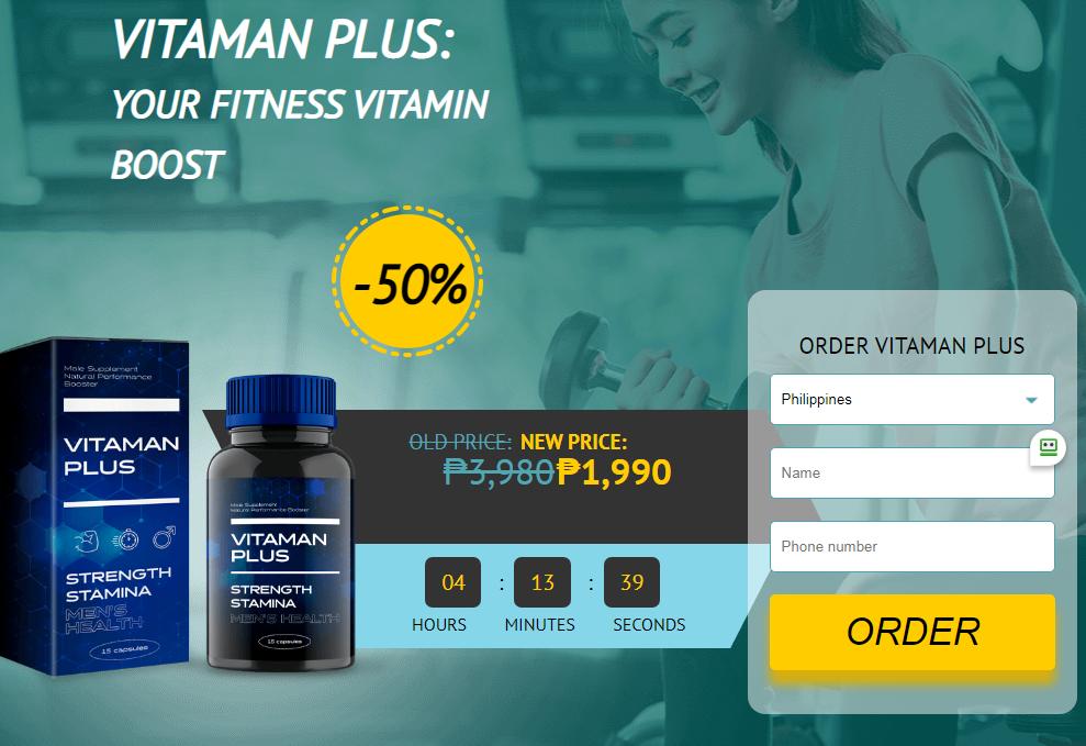 Vitaman Plus kapsula