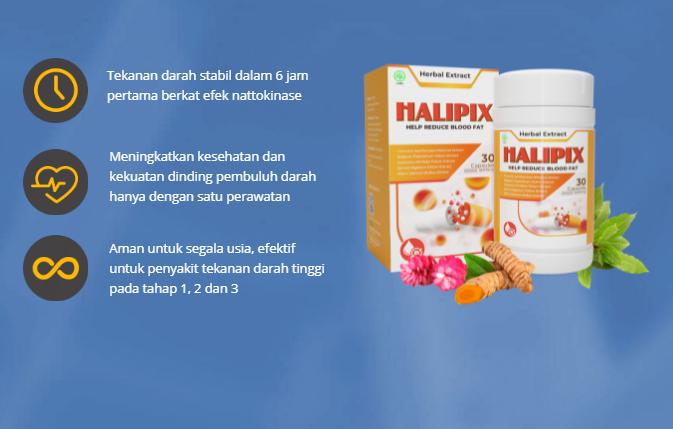 Halipix Bahan