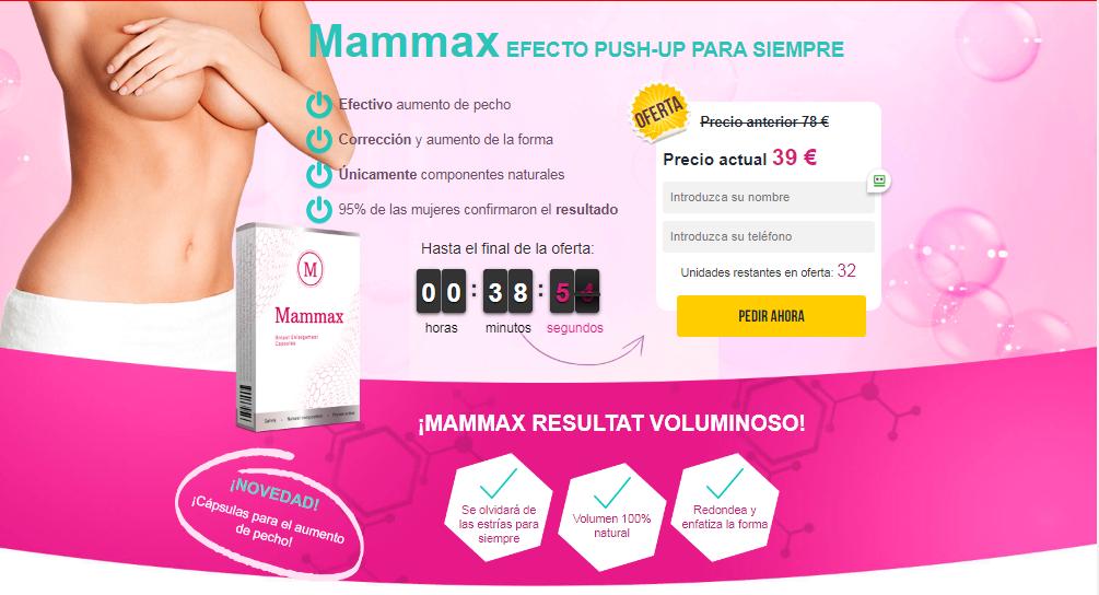Mammax cápsula
