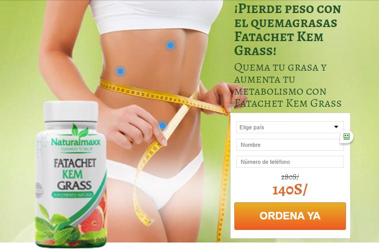 Fatachet Kem Grass cápsula