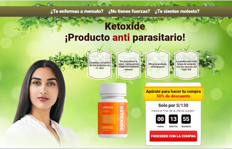 Ketoxide cápsula