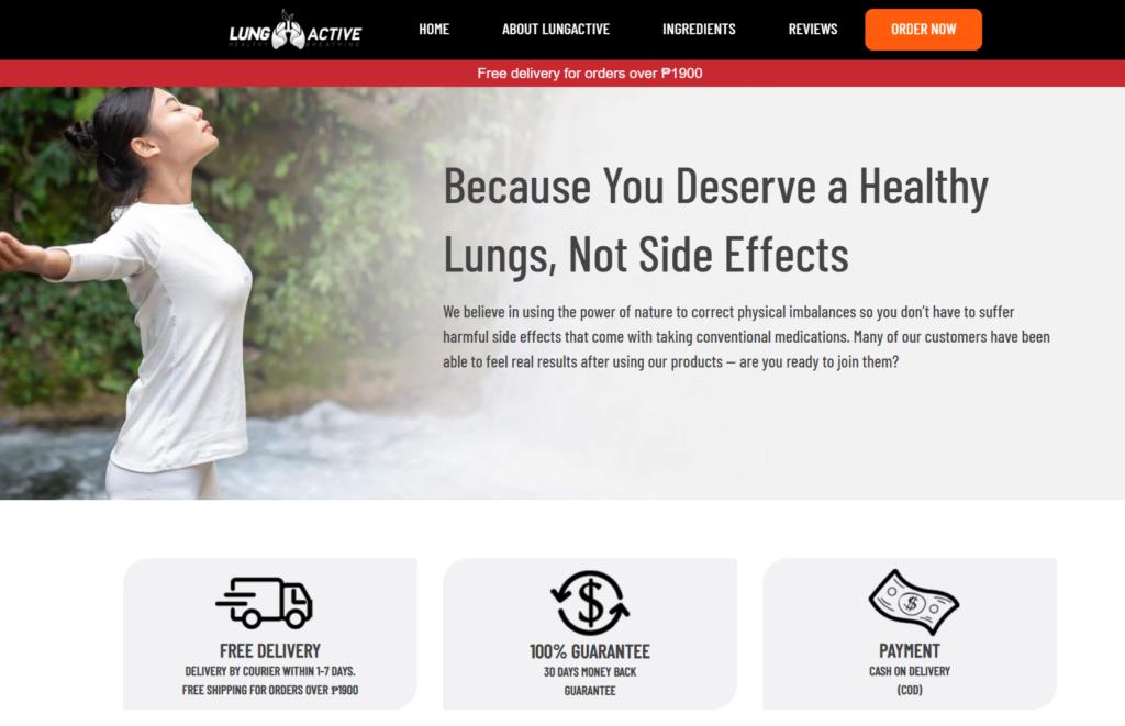 LungActive mga pagsusuri