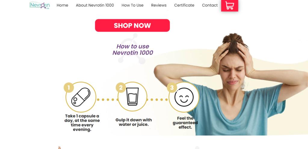 Nevrotin 1000 Mga tablet