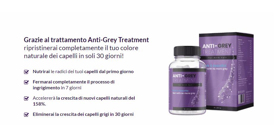 Anti Grey Treatment ingredienti