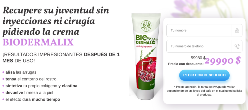 Biodermalix crema