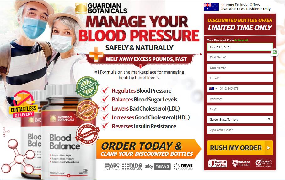 Guardian Blood Balance capsule