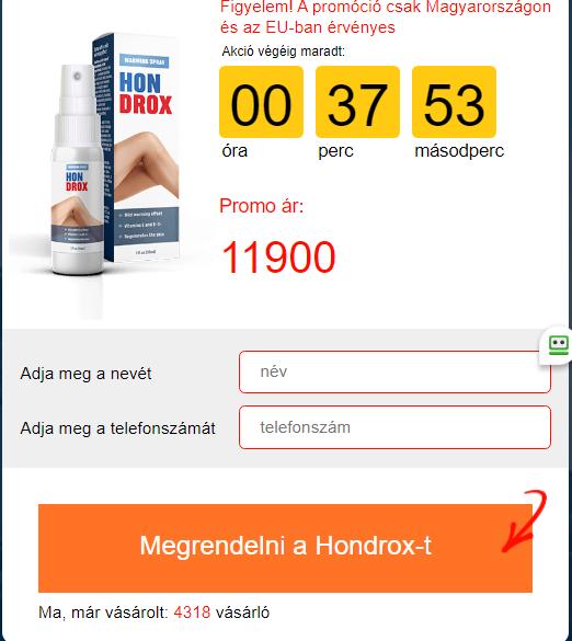 Hondrox Hozzávalók